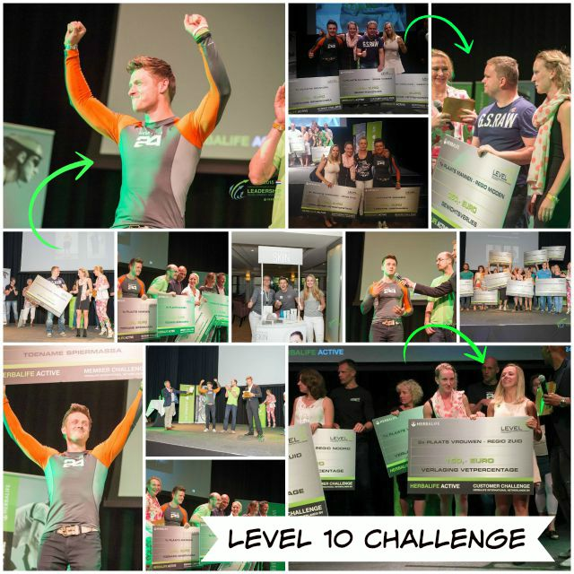 Herbalife Level 10 Challenge: En de winnaar is…