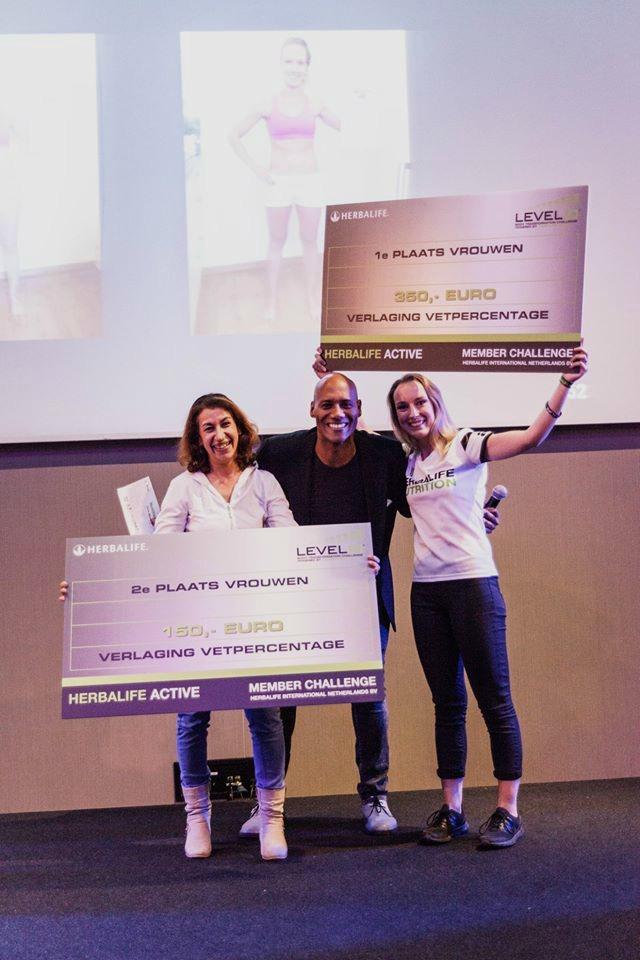 Winnaar Herbalife Level 10 Challenge… Wauw!
