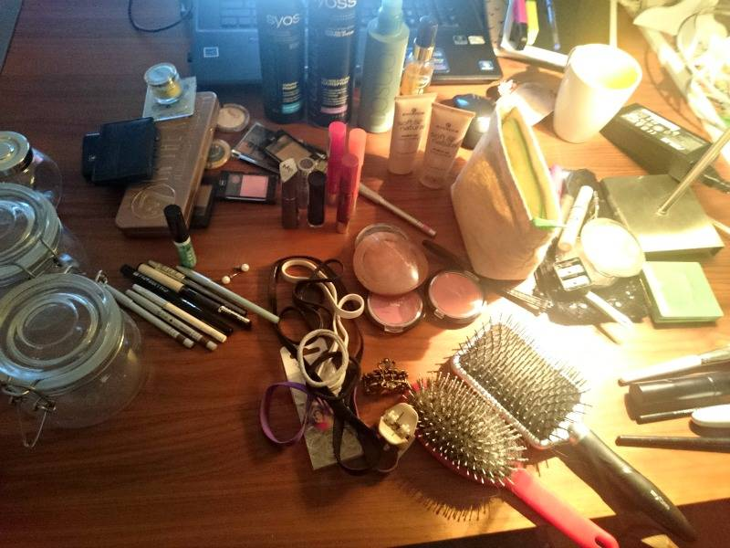 Make up stash