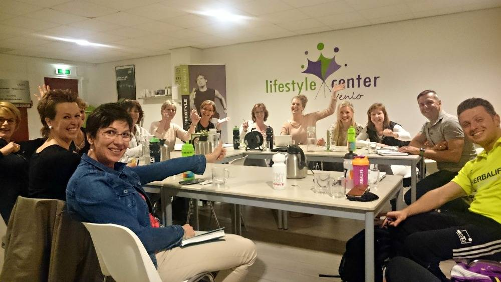 Herbalife training LifestyleCenter Venlo